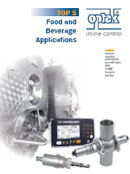 Top 5 Food and Beverage Process Control Solutions