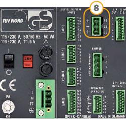 C8000 Back panel Foundation Filedbus