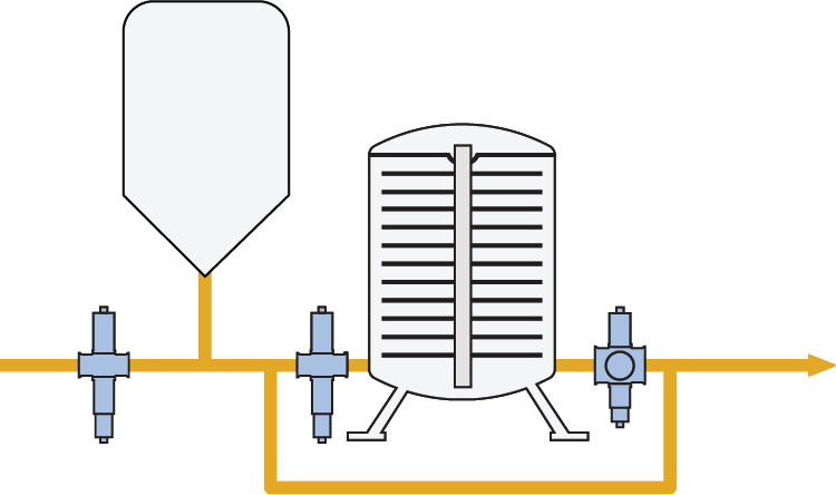 Monitoring filtration in the food industry