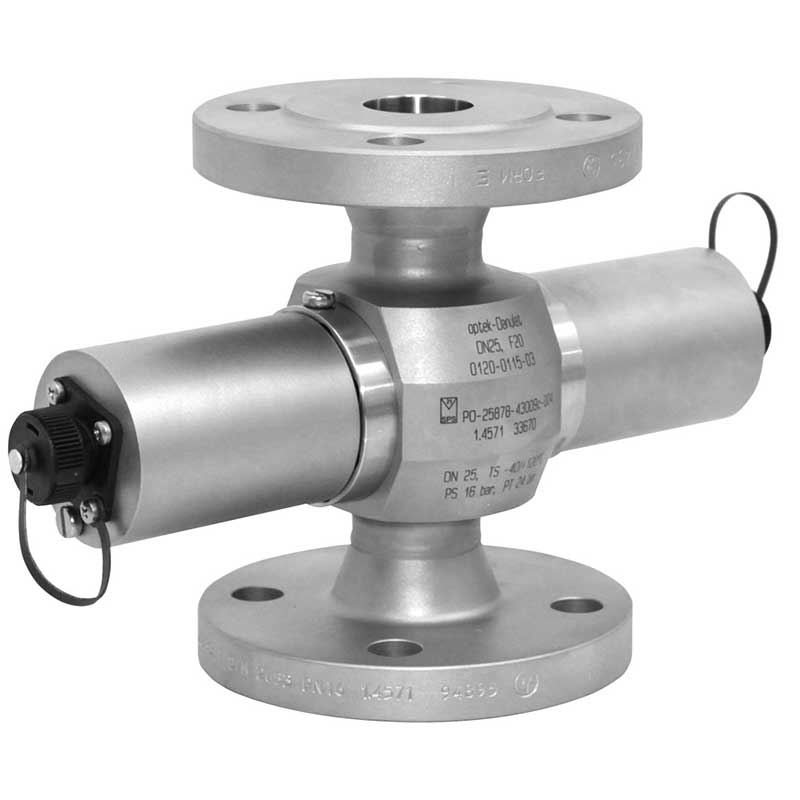 AF56-N with an industrial flange connection for turbidity measurements