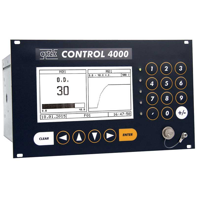 Converter Monitoring a fermentation process in OD (30 OD)