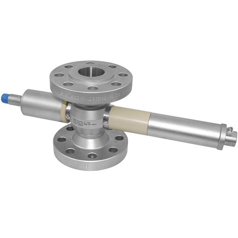High temperature, explosion proof turbidity meter with a flange process connection